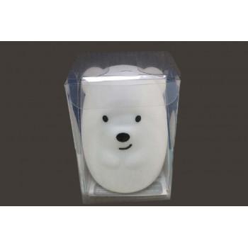 Ночник детский мини Click Медвежонок силиконовый