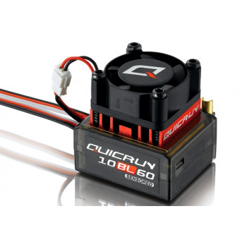 Регулятор сенсорний HOBBYWING QUICKRUN 10BL60 60A 2-3S для автомоделей