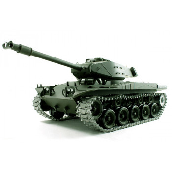Танк на радиоуправлении 1:16 Heng Long Bulldog M41A3 с пневмопушкой и и/к...