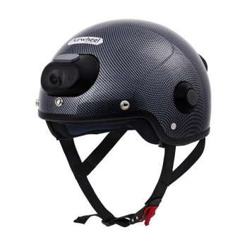 Шлем C6 с камерой (карбон) L