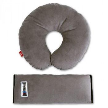 Комплект дорожный для сна серый
