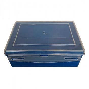 Контейнер пластиковый синий