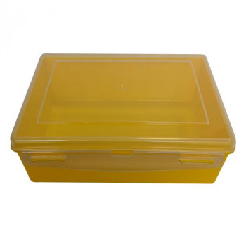 Контейнер пластиковый желтый