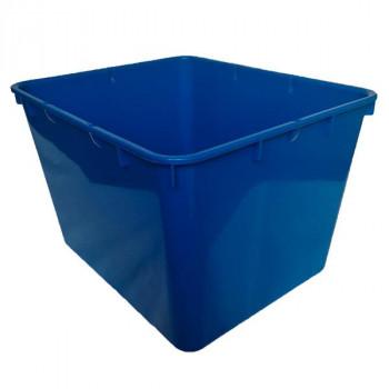 Контейнер пластиковый открытый синий