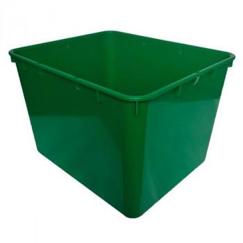Контейнер пластиковый открытый зеленый