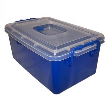 Контейнер пластиковый большой синий