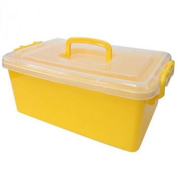 Контейнер пластиковый большой желтый