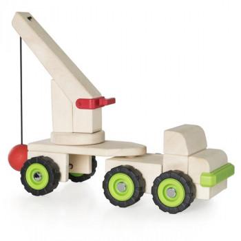 Игрушка Block Science Trucks Большая стенобитная машина