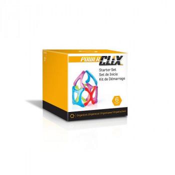 Конструктор PowerClix Organics Базовый набор, 6 деталей