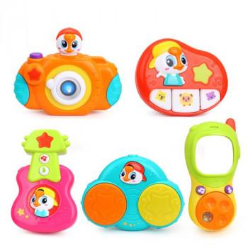 Комплект подвесных музыкальных игрушек 5 шт.