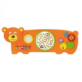 """Настенная игрушка бизиборд """"Медведь"""""""
