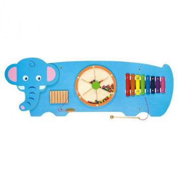 """Настенная игрушка бизиборд """"Слон"""""""
