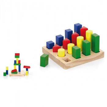 """Набор деревянных блоков """"Форма и размер"""""""