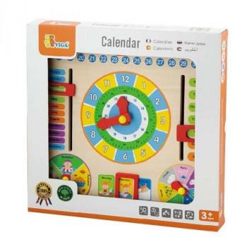 "Игрушка ""Часы и календарь"""