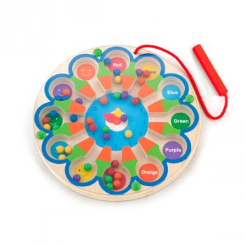 """Развивающая игрушка Магнитный лабиринт """"Часы"""""""