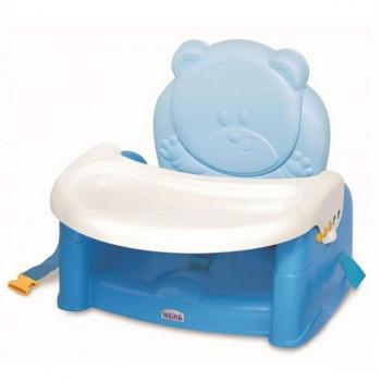 Стульчик-бустер для кормления Teddy Bear, голубой