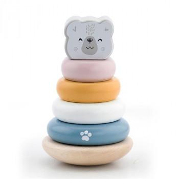 Пирамидка PolarB Белый медведь