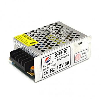 Импульсный блок питания YOSO 12В 3А (36Вт) S-36-12