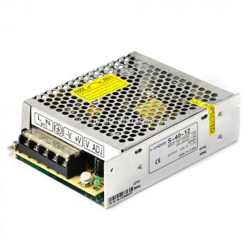 Импульсный блок питания YOSO S-40-12 12В 3.5А (40Вт)