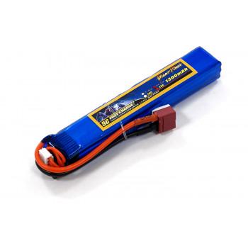 Акумулятор для страйкболу Giant Power Li-Pol 11.1V 3S 1300mAh 25C 18х21х130мм...