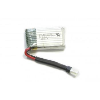 Аккумулятор Li-Pol 250mAh 3.7V (запчасть для квадрокоптера Wowitoys H4816S)