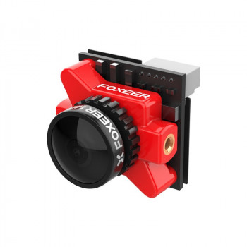 Foxeer Falkor 2 Micro 1200TVL FPV Camera 1.8mm Global WDR - Красный
