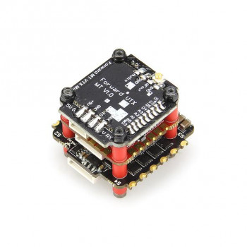 Стек HGLRC Zeus FD735-VTX Mini STACK 20X20 3-6S 35A BL32 4in1 ESC