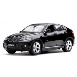 Машинка р/у 1:24 Meizhi лиценз. BMW X6 металлическая (черный)