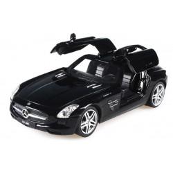 Машинка р/у 1:24 Meizhi лиценз. Mercedes-Benz SLS AMG металлическая (черный)