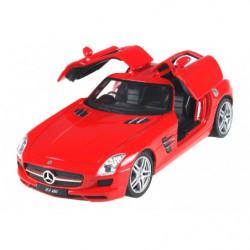Машинка р/у 1:24 Meizhi лиценз. Mercedes-Benz SLS AMG металлическая (красный)