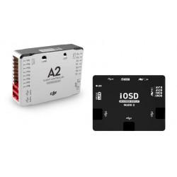 Полетный контроллер DJI A2 +  система видеоналожения iOSD Mark II