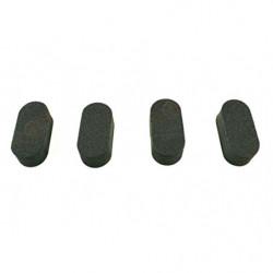 Подушечки посадочные для рам мультикоптеров 4шт (черный)