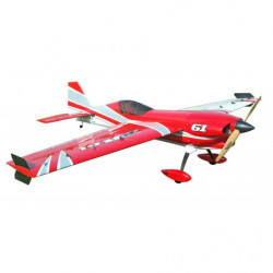 Самолет Precision Aerobatics XR-61 1550мм KIT (красный)