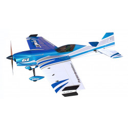 Самолет Precision Aerobatics XR-61 1550мм KIT (синий)
