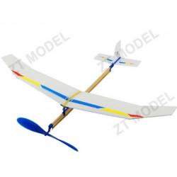 Самолет резиномоторный ZT Model Sky-Touch 500мм