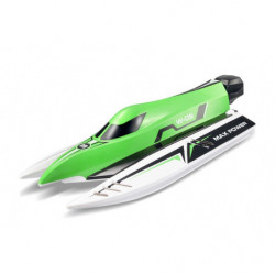 Катер на WL Toys WL915 F1 High Speed Boat бесколлекторный (зеленый)