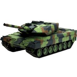 Танк р/у 2.4GHz 1:16 Heng Long Leopard II A6 в металле с пневмопушкой и дымом...