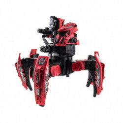 Робот-паук р/у Keye Space Warrior ракеты, диски, лазер (красный)