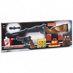 Ружьё и пистолет EDISON Multitarget набор с мишенями и пульками (629/22)