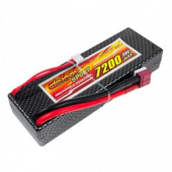 Аккумулятор Dinogy Li-Pol 7200mAh 7.4V 2S 30C Hardcase 25x46x138мм T-Plug