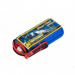 Аккумулятор Giant Power Li-Pol 1500mAh 7.4V 2S 25C 19x32x61мм JST