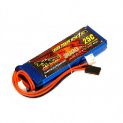 Аккумулятор Dinogy Li-Pol 3000mAh 7.4V 2S 20x30x100 для FrSky X9D+