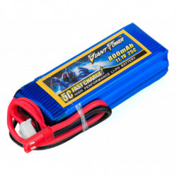 Аккумулятор Giant Power Li-Pol 800mAh 11.1V 3S 25C 17x25x68мм JST