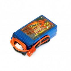Аккумулятор Dinogy Li-Pol 600mAh 11.1V 3S 65C JST