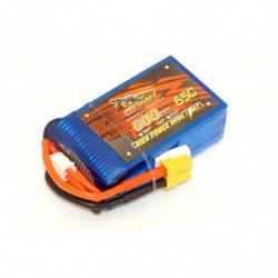 Аккумулятор Dinogy Li-Pol 600mAh 11.1V 3S 65C XT30
