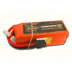 Аккумулятор Dinogy ULTRA G2.0 Li-Pol 1850mAh 14.8V 4S 80C XT60