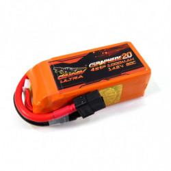 Аккумулятор Dinogy ULTRA G2.0 Li-Pol 1000mAh 14.8V 4S 80C XT60