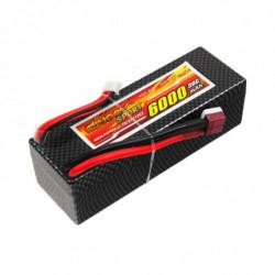 Аккумулятор Dinogy Li-Pol 6000mAh 14.8V 4S 30C Hardcase 41x40x138мм T-Plug
