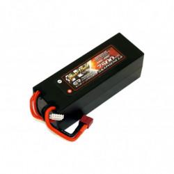 Аккумулятор Giant Power G2.0 Li-Pol 7500mAh 14.8V 4S 100C Hardcase 48x46x139...