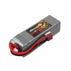 Аккумулятор Dinogy G2.0 Li-Pol 1300mAh 22.2V 6S 70C 31x35x105мм T-Plug